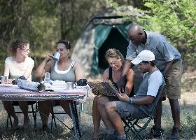 Botswana Campingsafari - Mit Zelt ums Okavango Delta