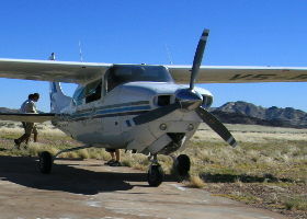 Namibia Flugsafari - Über Dünen und weite Ebenen