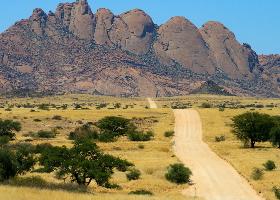 Namibia Mietwagenreise - mit geführten Wanderungen